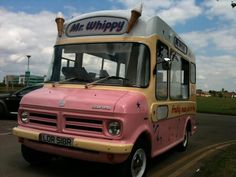 Mr Whippy ice cream truck