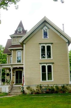 Victorian, built in 1877 located at: 226 E Park St, Pentwater, MI 49449