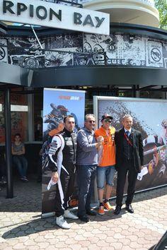 Tony Cairoli con Lucio Mistri (CEO Scorpion Bay)