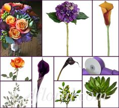 fall flowers http://blog.afloral.com/daily-scoop/purple-orange-green-wedding-flowers-candices-inspiration-board/#.Ui3bs8asiSo