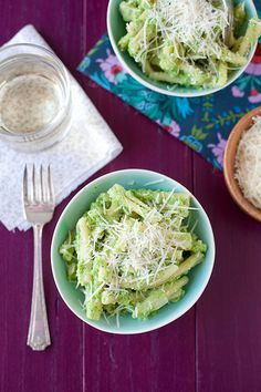 Broccoli Pesto Pasta | Annie's Eats by annieseats, via Flickr