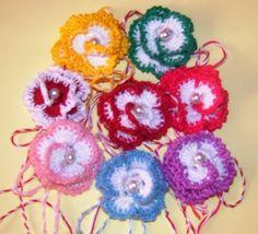 HANDMADE: MARTISOARE CROSETATE-3 LEI/BUC 8 Martie, Crochet Earrings, Dreams, Handmade, Jewelry, Hand Made, Jewlery, Jewerly, Schmuck