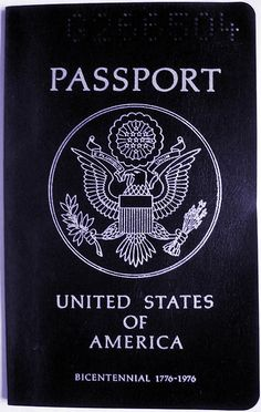 United States Bicentennial passport (1976)