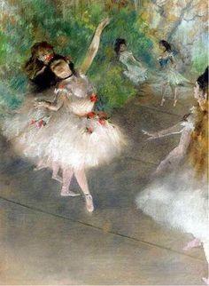 Degas, Edgar , - Dancers / Painting / Works of art / Silesian Art Collections - Rariora Artis