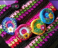Cute little crochet coin purses