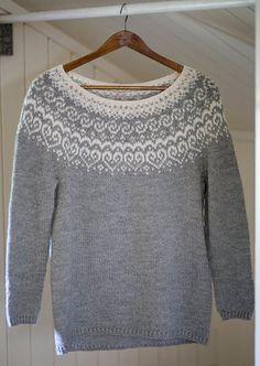 Knitting Sweaters Norwegian Free Pattern 62 Ideas For 2019 Fair Isle Knitting Patterns, Fair Isle Pattern, Sweater Knitting Patterns, Baby Knitting, Knitting Sweaters, Vintage Knitting, Free Knitting, Work Tops, Free Pattern