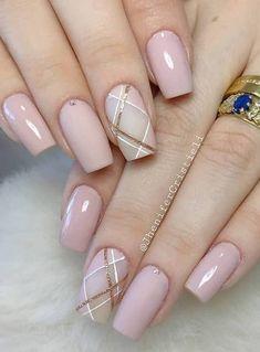 Chic Nails, Stylish Nails, Trendy Nails, Swag Nails, Nail Art Designs Videos, Gel Nail Designs, Acrylic Nail Tips, Manicure E Pedicure, Pretty Nail Art