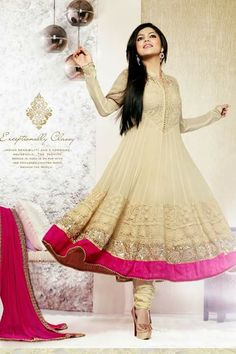 #designer #anarkali #suits @  http://zohraa.com/designer-partywear-online-cream-faux-georgette-and-net-salwar-kameez-touch40011-e.html #anarkali #suits #celebrity #anarkali #zohraa #onlineshop #womensfashion #womenswear #bollywood #look #diva #party #shopping #online #beautiful #beauty #glam #shoppingonline #styles #stylish #model #fashionista #women #lifestyle #fashion #original #products #saynotoreplicas (Shipping : Your order will be shipped within 1 day from the date of purchase)