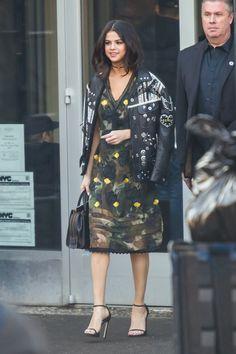 February 14: Selena seen at the Coach FW17 Fashion Show in New York City, NY