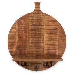 Foreside Home & Garden Brimfield Cutting Board Shelf