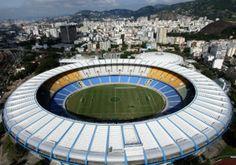 Maracanã - This Stadium will host the final