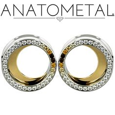 """Coordinate your Threaded Moon Ends with our Crescent Moon Eyelets! Available from 1/2"""" on up in ASTM F-138 stainless steel and solid 18k gold with solid bronze, silver, or 18k gold Crescent Moon Inserts."""