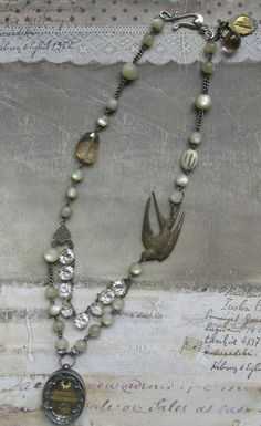 Assemblage Jewelry by Ann Jamison