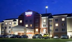 Fairfield Inn & Suites Paducah The Fairfield Inn & Suites Paducah; home to The National Quilt Museum, Dippin' Dots, Baptist and Mercy/Lourdes Hospitals.    Jump-start your day with hot & healthy choices like eggs, sausage, oatmeal... #Apartment #Hotel  #Travel #Backpackers #Accommodation #Budget