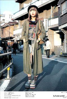 Fruits Magazine - Street Fashion Japan                              …