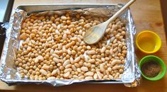 Healthy Crunchy Crispy Snack Beans