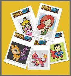 Modele Pixel Art, Pix Art, Cycle 3, Ecole Art, Creative Kids, Art Plastique, Diy For Kids, Illustration Art, Miniature
