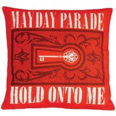 Mayday Parade Filigree Key Pillow