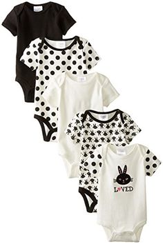 Manufacturer Size:56 5 Pack Multi Tractor Bodysuits Up to One Month