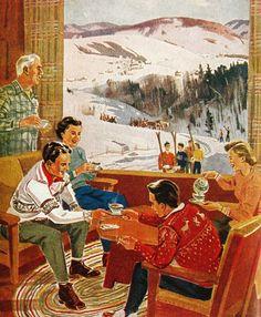 Après Ski at Grampa's Park City cabin