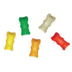 How adorable are these gummy bear magnets?