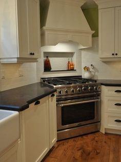 Inspirational Stove In Corner Of Kitchen