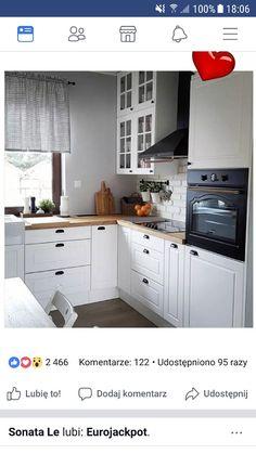 arredamento-cucina-ikea-stile-nordico-forma-U-top-legno | Cucine ...