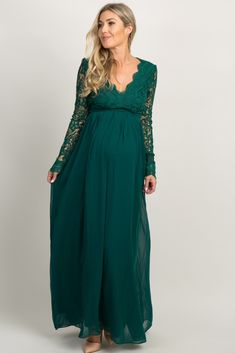 The Maternity Maxi Dresses – When Comfort Meets Style Maternity Evening Gowns, Green Maternity Dresses, Maternity Bridesmaid Dresses, Maternity Gowns, Maternity Fashion, Stylish Maternity, Maxi Dresses, Pregnant Wedding Dress, Maxi Dress Wedding