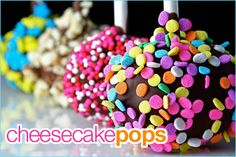 #Cheesecake #pops