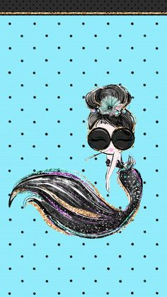 Mermaid Holly Golightly