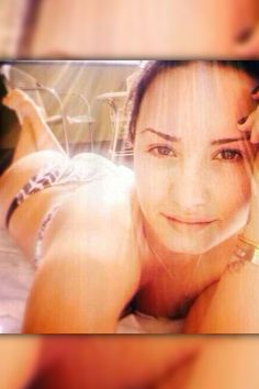 "Demi Lovato showed off her bikini body with a sexy selfie on May 1, 2014. She wrote: ""When in Brazil..."""
