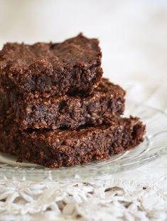 Brownie zabpehellyel és 60%-os étcsokoládéval/Fotó: Myreille