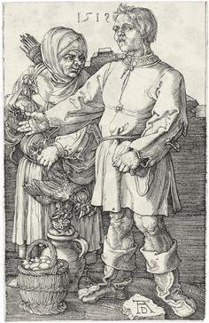 Albrecht Durer (1471-1528) Saint Christopher Facing Right 1519