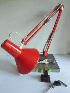 Gelenk - Lampe 70er DENMAK von susduett auf DaWanda.com