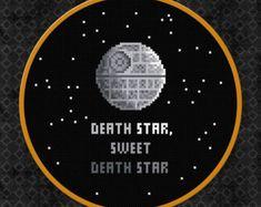 Death Star, Sweet Death Star - Star Wars - Cross Stitch Pattern