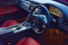 2016 jaguar xf 30d diesel portfolio (color: ingot) – interior, steering  wheel wallpaper. 2017 jaguar xf l – interior, rear seats – picture # 12. the 2016 jaguar xf . jaguar xj interior back seat. 2014 jaguar xjr 35|250. 2016 jaguar xf 30d diesel portfolio (color: ingot)...