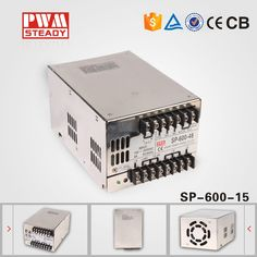 72.00$  Buy now - http://ali93l.worldwells.pw/go.php?t=32703779994 - (SP-600-15)China golden suppplier ac dc 15v 600w pfc power supply 72.00$
