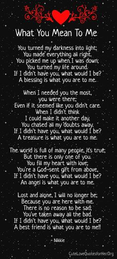 169 Best You Mean The World To Me Images Thoughts Words