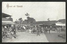 Tjimahi Cimahi Market Pasar Java Indonesia stamp ca 1910 nl.picclick.com