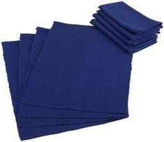 Amazon.com - DII Basics Nautical Blue Table Linen Set - Cloth Napkins #AmazonCart #DII #DesignImports