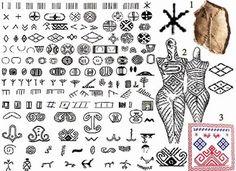 1 – символ «Ж» с керамики верхневолжской культуры (Центральная Русь, 5 – 3 тыс. до н.э.) и трипольский аналог; 2 – символ «Засеянное поле» н...