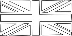 @Kathleen S adele Banks - Union Jack Bunting template... it was MADE for ME!