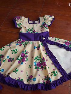 Vestidos de cueca s Girls Dresses, Summer Dresses, Baby Dress, Doll Clothes, Sewing, Fashion, Rednecks, Children Dress, Folklore