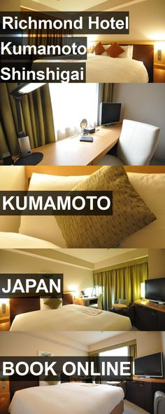 Richmond Hotel Kumamoto Shinshigai in Kumamoto, Japan. For more information, photos, reviews and best prices please follow the link. #Japan #Kumamoto #travel #vacation #hotel