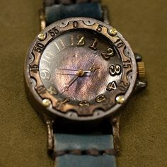 These watches really are beautiful, and they are hand made!