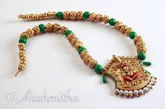 ♥ Terracotta Jewellery Designs, Thread Jewellery, Silk Thread, Jewelery, Handmade Jewelry, Fashion Jewelry, Jewelry Design, Beaded Bracelets, Diamond