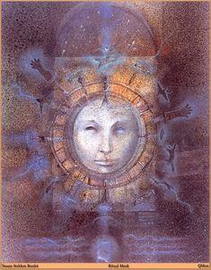 Ritual Walk by Susan Seddon-Boulet Archival Prints and Original Art - Turning Point Gallery Spirited Art, Psychic Readings, Artwork Prints, All Art, Art Forms, Find Art, Fantasy Art, Street Art, Original Art