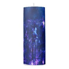 Eathereal Falls Pillar Candle
