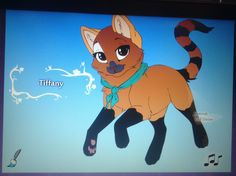 I created me as one ^-^ not adoptable lol