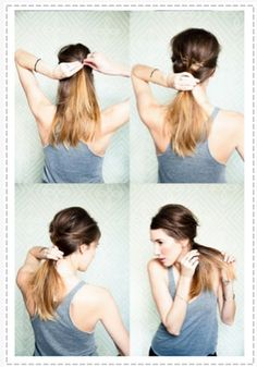 Simple but very cute ponytail